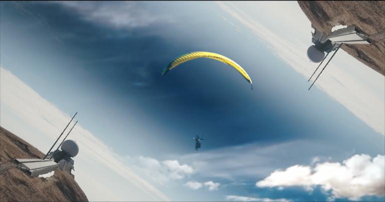 Entre les nuages / Teaser Parapente